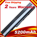 Free shipping Battery Pack For ASUS K52J K52JB K52JC K52JE K52JK K52JR K52N K52EQ K52JT K52JU K62F K62J K62JR Laptop