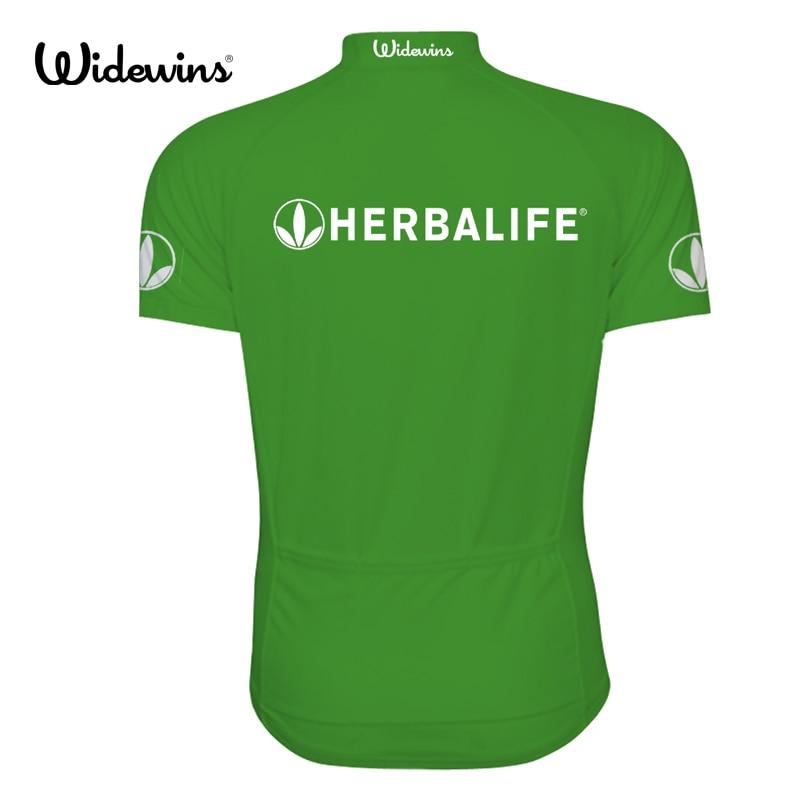 Cămașă nouă de ciclism Herbalife 2018, haine pentru ciclism verde - Ciclism - Fotografie 2