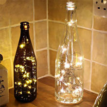 2020 1M String Fairy Light 10 Led Battery Operated Xmas Lights Party Wedding Lamp Muurstickers Voor Kinderen Kamers stranger Dingen(China)