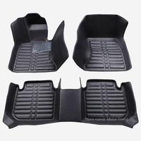 Custom fit car floor mats for Honda Civic 8th 9th 10th generation 3D all weather car styling carpet rugs floor liners(2005 )
