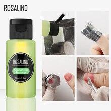 ROSALIND Degreaser for nails Nail Polish Remover 1PCS Gel Nail UV Lint Free Wipes Remover Gel Polish Nail Cleanser Art