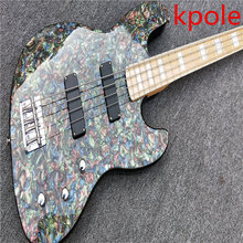 Kpole-New Kpole – a decent, top-quality relic of a handmade bass guitar.Real pictures can be customized wholesale!