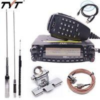 TYT TH 9800 Plus Quad Band Cross Band Mobile Car Ham Radio Transceiver with Original TYT TH9800 Quad Band Antenna TH 9800 Radio