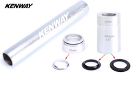 KENWAY Mountain Bike Fork Base Installation Tools MTB Bicycle Headset Bottom Washer Setting Tool for 28.6mm 1.5 1.25 Fork