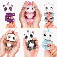 Vinger Baby panda Interactieve Smart Pet Inductie Speelgoed voor kinderen kerstcadeau