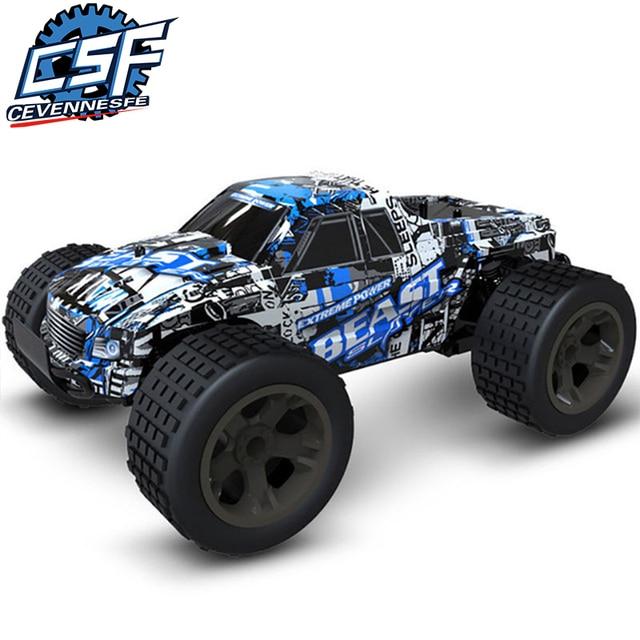 RC voiture 2.4G 4CH Rock Crawlers conduite de voiture Bigfoot voiture télécommande modèle de voiture tout-terrain véhicule jouet wltoys traxxas rc dérive