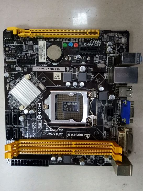 H81 motherboard for Biostar H81MDV5 LGA 1150 DDR3 mainboard Used original