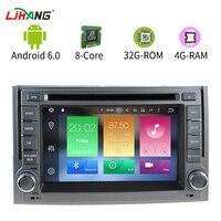 LJHANG Android 6,0 2 Din dvd плеер автомобиля для hyundai H1 Grand Starex iLoad gps навигации WI FI радио Автомобильный мультимедийный RDS головного устройства