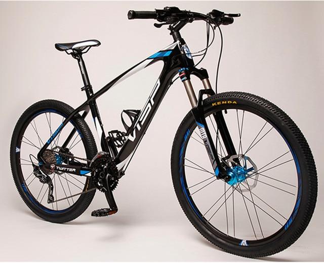 Carbon Fiber Mountain Bike >> Visp 33 30 27 Speed Carbon Fiber Mtb Mountain Bike 27 5 26