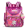 Grizzly Children Kids Backpack Infantil School Bags for Girls Primary Bookbag Floral Cartoon Pattern Waterproof Mochila Escolar