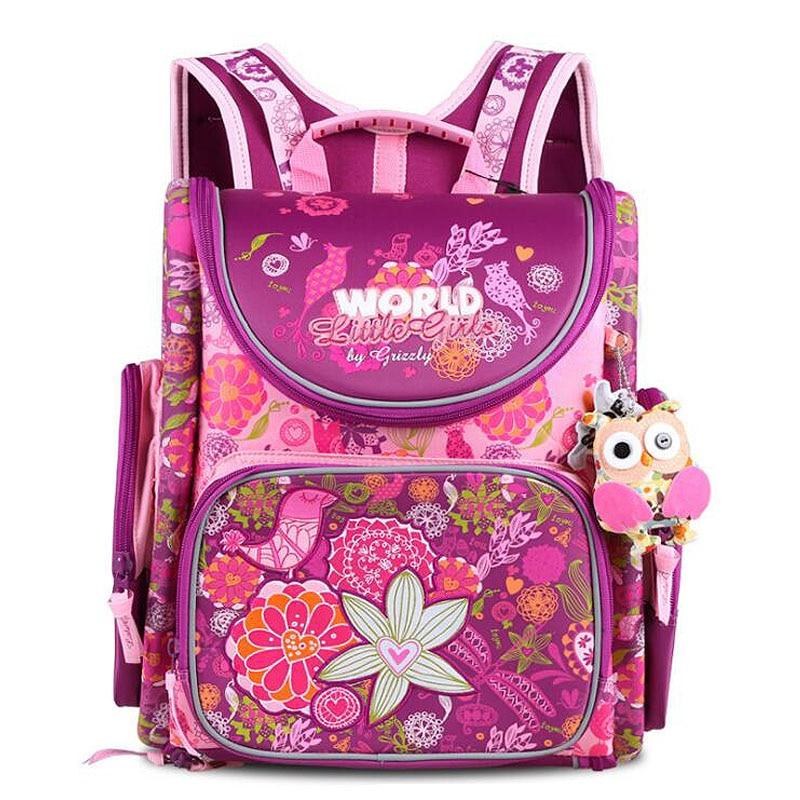 Grizzly Children font b Kids b font font b Backpack b font Infantil School Bags for