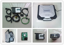 mb star c5 sd connect for mb diagnostic tool mb sd with newest software in hdd with laptop cf30 ram 4g reay to use