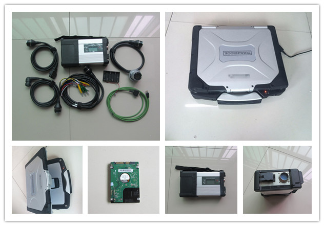 mb star c5 sd connect for mb diagnostic tool mb sd with newest software in hdd