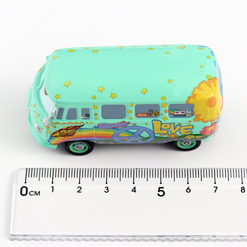 Image 5 - Disney Cars 3 Pixar Cars 1st Movie original Fillmore Metal Diecast Toy Car 1:55 Lightning McQueen Boy Gift Girl Free Shipping-in Diecasts & Toy Vehicles from Toys & Hobbies