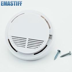 Fumo sem fio/fire Detector alarme de fumo Sem Fio para Sem Fio Para Home Security Discagem Automática do Sistema de Alarme Sensor de Fumaça