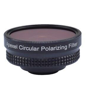 Image 4 - Apexel 프로 카메라 렌즈 키트 16mm 4 k 와이드 앵글 렌즈 cpl 필터 범용 hd 휴대 전화 렌즈 아이폰 7 6 s 플러스 xiaomi
