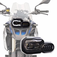 Motorcycle LED Fog Light & Protect Guards with Wiring Harness For BMW R1200 GS /ADV Motorcycle Led Lights white 6000k