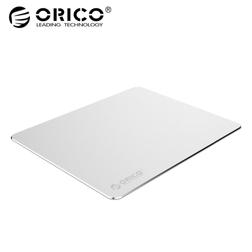 ORICO Aluminium Maus Pad mit 1,5mm Aluminium 0,5mm Gummi Computer Mousepad für Home Office Business (AMP2218)