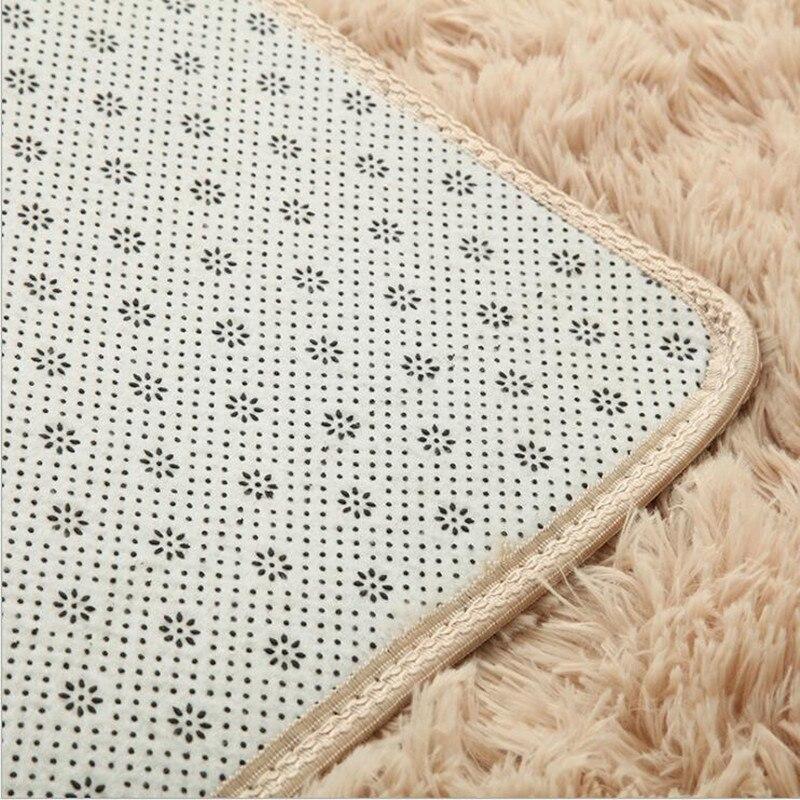 Nouveau 1200mm x 2500mm x 45mm épais riche tapis Shaggy grand tapis doux tapis coureur tapis de sol tapis de salon tapis - 6