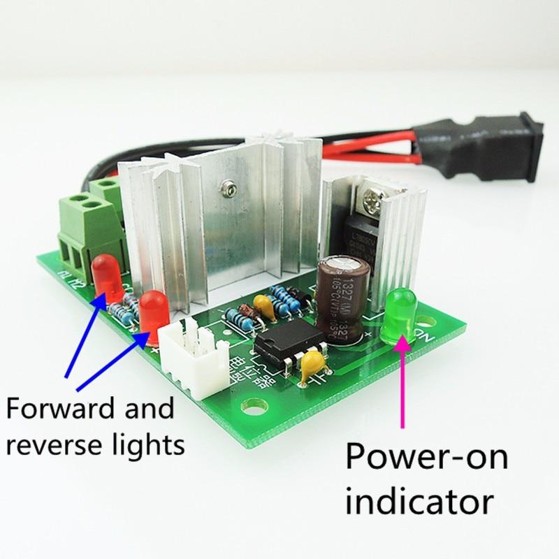6 30 V DC Motor drehzahlregler Reversible Pwm steuerung Vorwärts ...