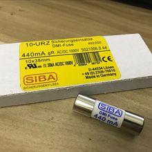 10Pcs SIBA Fuse 5021006 440mA 1000V 10*35mm Replaces BUSSMANN DMM B 44/100 440mA 1000V BUSS FUSE Fluke multimeter Fuses