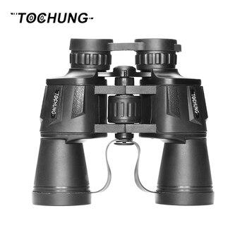 TOCHUNG metal thermal binoculars 10x50 professional hunting binoculars military binoculars bak4 prism optics telescope for sale Бинокль