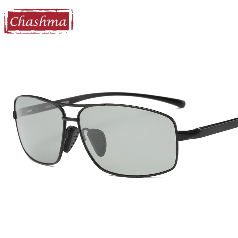 Chashma Large Frame Prescription Fishing Sun Glasses Men Polarized Male Oversize Anti Glare UV 400 Myopia