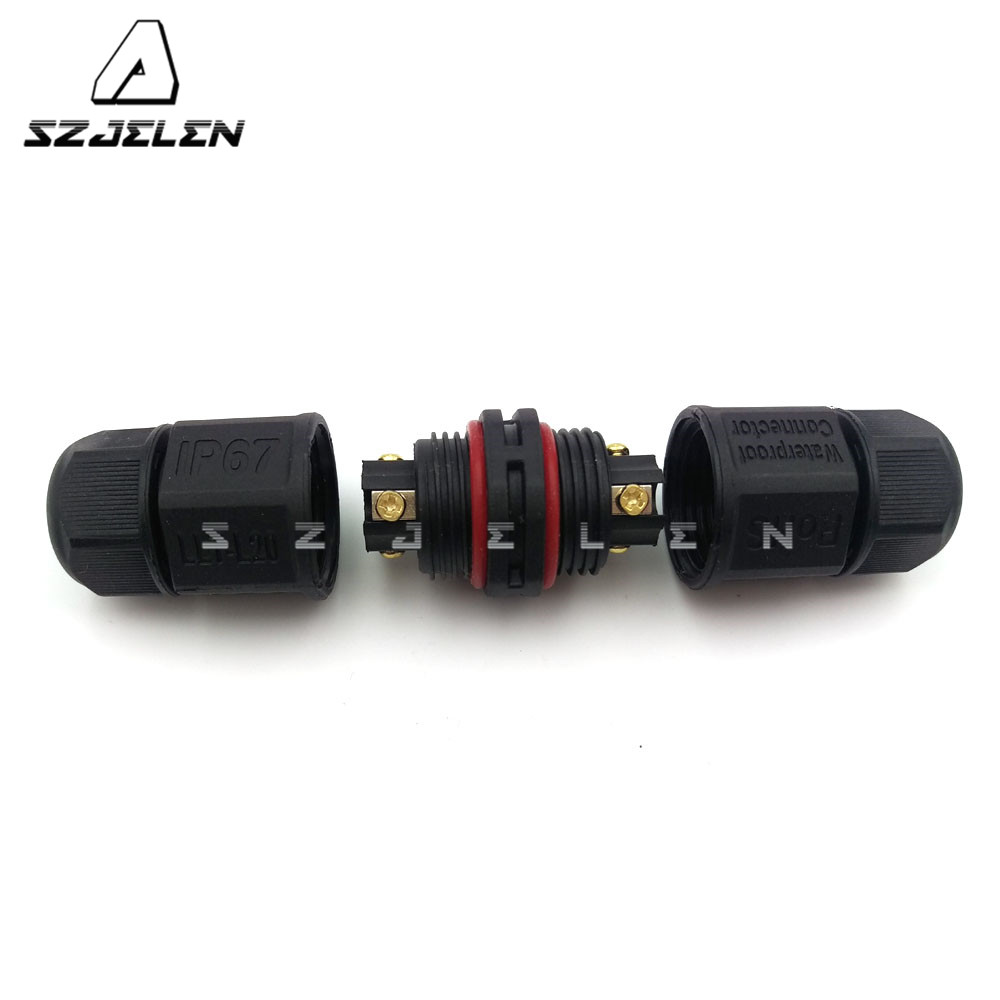 Industrial Power Cables : Llt l pin waterproof connector ip led power
