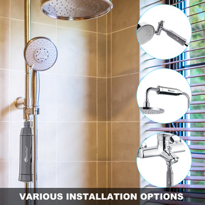 Image 5 - ويلتون حمام دش تصفية المياه (H 301 2E) المنقي الكلور والمعادن الثقيلة إزالة تنقية الاستحمام الصحي للاستحمام الصحي
