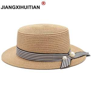 98bdb45e53f jiangxihuitian Summer Beach Lady Straw Sun Hat Women