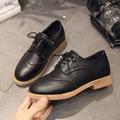 2017 Fashion Women Casual Shoes Woman Brogue Europe Style Oxford Shoes Flats Spring Sapatos Femininos Sapatilhas Zapatos Mujer