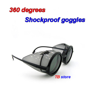 Image 2 - 12235 protective glasses Windproof dust proof Shockproof safety goggles Collapsible Avant garde fashion Cycling goggles