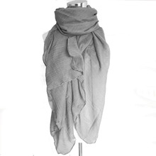 2018 New Fashion 20 Colors Women Scarf Vintage Ladies Solid Color Black Red White Scarves Warp summer women's scarf long shawl