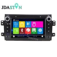 JDASTON 2 Din Car DVD Player For SUZUKI SX4 Fiat Sedici 2006 2007 2008 2009 2010 2011 2012 Car Multimedia Radio GPS Navigation