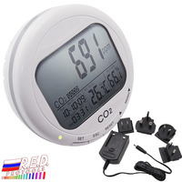 Электронные часы, температурный датчик, датчик CO2, датчик температуры, датчик влажности, монитор 3 в 1