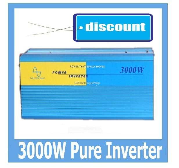 Pure Sine Wave power inverter 3000w DC 48V to AC 120V car inverter power converter off inverterPure Sine Wave power inverter 3000w DC 48V to AC 120V car inverter power converter off inverter