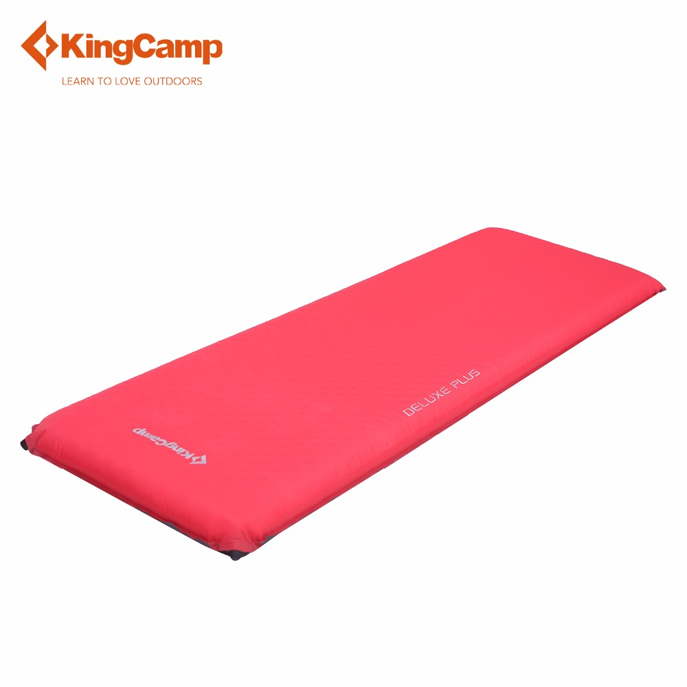 KingCamp Camping Mat Sleeping Pad Self-Inflating Portable Outdoor DELUXE Camping Pad Mattress PVC Durable for Outdoor Hiking цены онлайн
