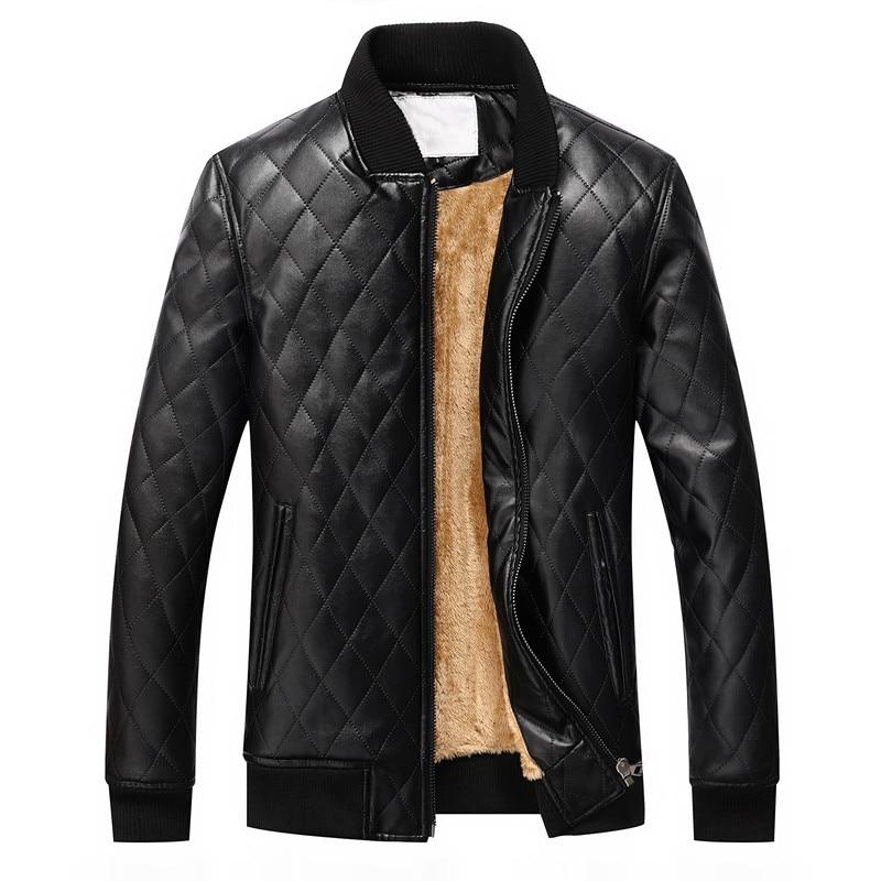 2017 vruće muškarce tople kožne jakne moto jakna vjetar kaput - Muška odjeća