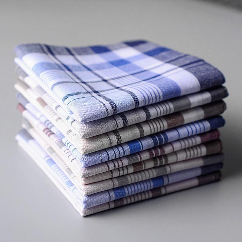12pcs/lot Handkerchiefs Men Cotton 38*38cm