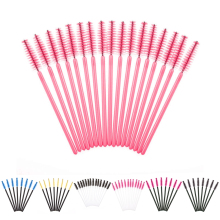 50/10/5PCS Disposable Eyelash Brush Mascara Wands Applicator Wand Brushes Eyelash Comb Brushes Spoolers Makeup Tool Kit maquiage