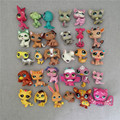 Promotion Cheap 20pcs/lot Littlest Pety Shop LPS Cat Dog Patrol rare toy set moana Hello Kitty anime Figure gift for girl