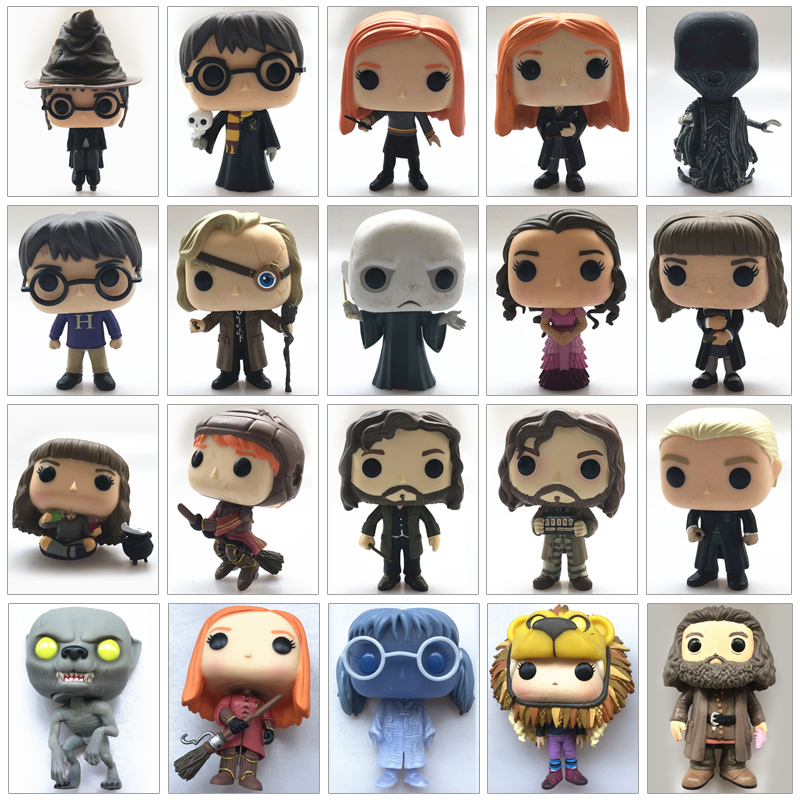 Original Funko Pop Used Harry Potter Lord Ginny Hermione Sirius Dementor Myrtle Vinyl Action Figure Collectible Model Loose Toy