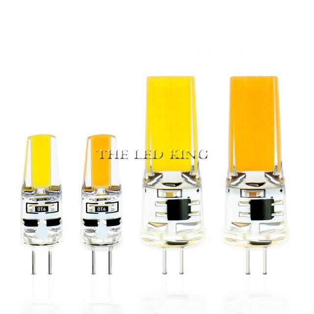 G4 De Lamp Led 12 V Dc/Ac 3W 6W 9W 12W Led G4 Led bombilla Luz De La Super Brillante G4 Cob De Silicona Bombillas Ampolla G9