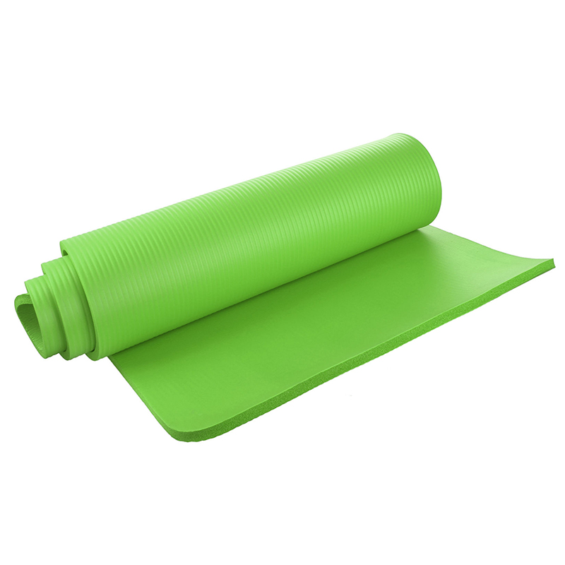 Tapis de yoga 15mm Épais Exercice Fitness Physio Pilates Gym Mat Antidérapante Accident Tapis, Fruit Vert