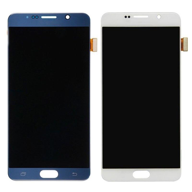 Pour Samsung Galaxy Note 5 N920P N920T N920A N920I N920G affichage Lcd complet écran tactile numériseur assemblée pièces de rechange