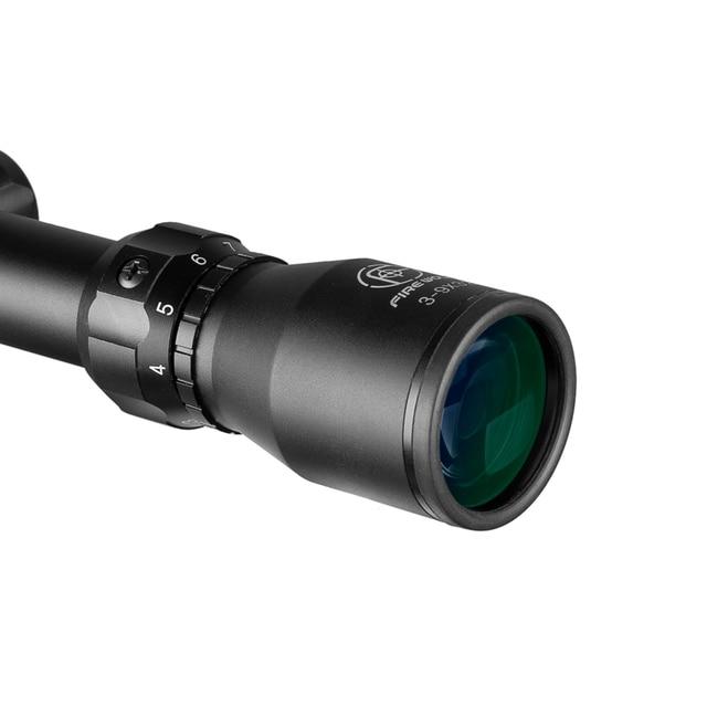 Fire Wolf 3-9X32 Green Glass Rifle Scope Outdoor Reticle Sight Optics Sniper Deer Tactical Best Telescope Riflescope Hunting 3