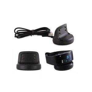 Image 4 - USB Dock şarj adaptörü standı şarj kablosu kablosu Samsung Galaxy dişli Fit 2 R360 / Fit2 Pro R365 akıllı bilezik bileklik
