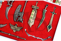 cosplay League of Legends Weapons Model Weapons Set Daquan LOL Pendant Game Periphery
