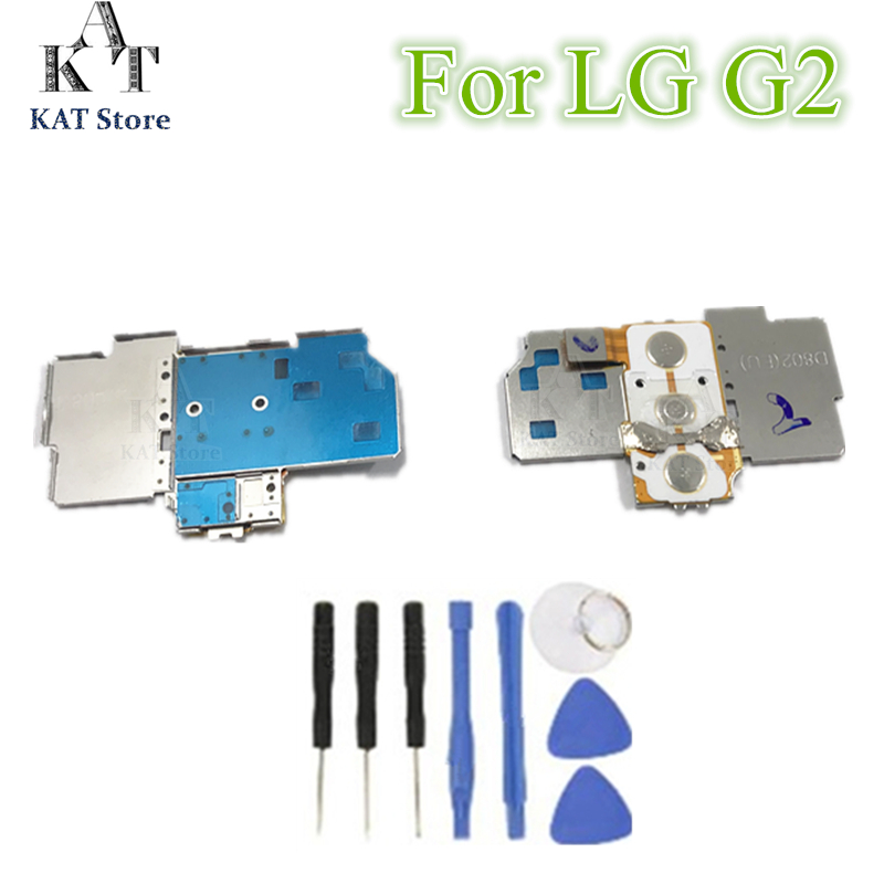 De Alta Calidad Para Lg Optimus G2 D800 D801 D802 D803 De Volumen/botón Interruptor Conectores De Teclado Flex Cable Replacement