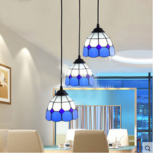 European style Pendant Lights Pendant Lamps Dining Room for home Indoor Lighting Fixture 3 Heads